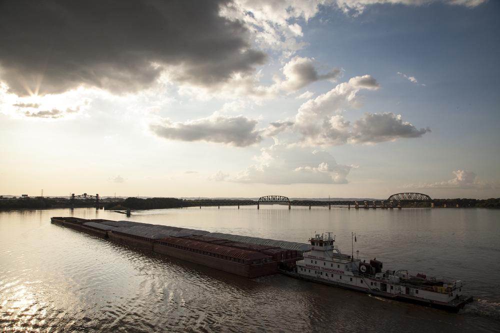 Louisville, Kentucky Boats and bridges