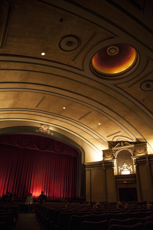 St. Louis, Missouri  Inside the Tivoli Theater