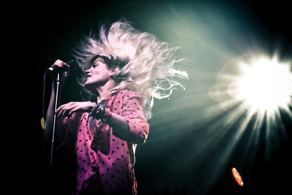 The Kills: my quest for the perfect hair flip