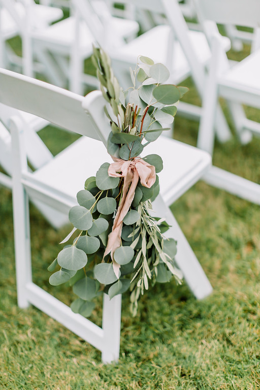 ceremony aisle greenery bunches.jpg
