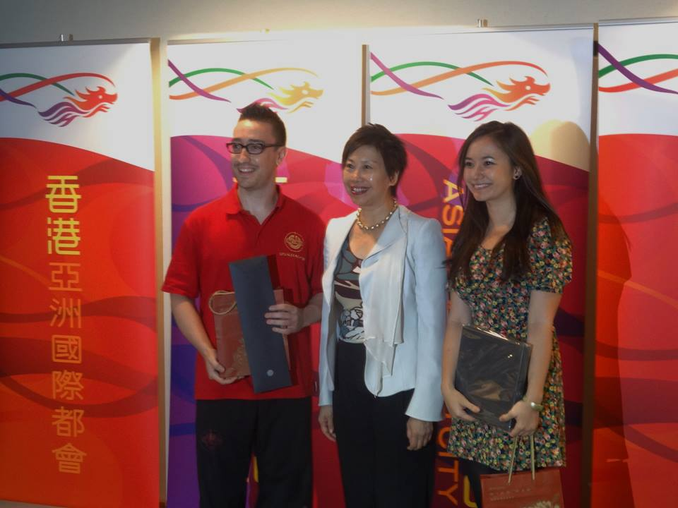 Mara performing at the Hong Kong Economics and Trade Office. Click to see the press release by the HK government!