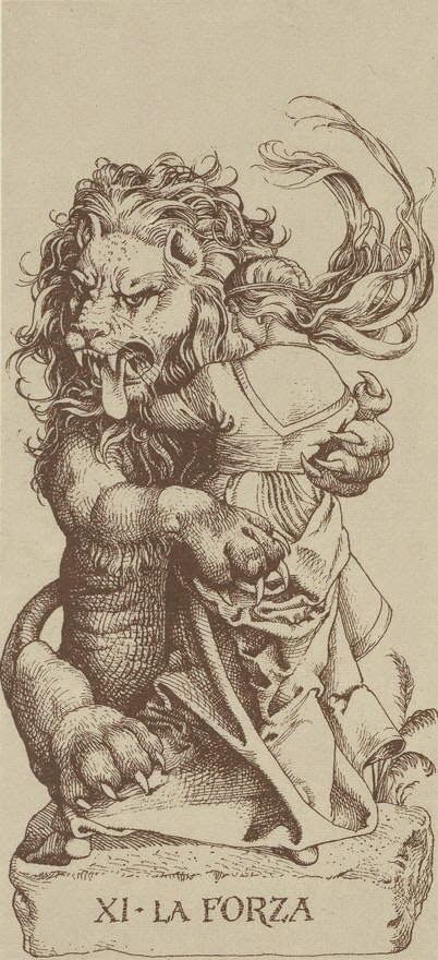 IMAGE FROM THE ALBRECHT DURER TAROT