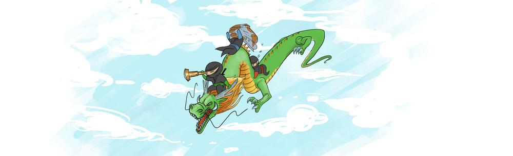 traveling ninjas!