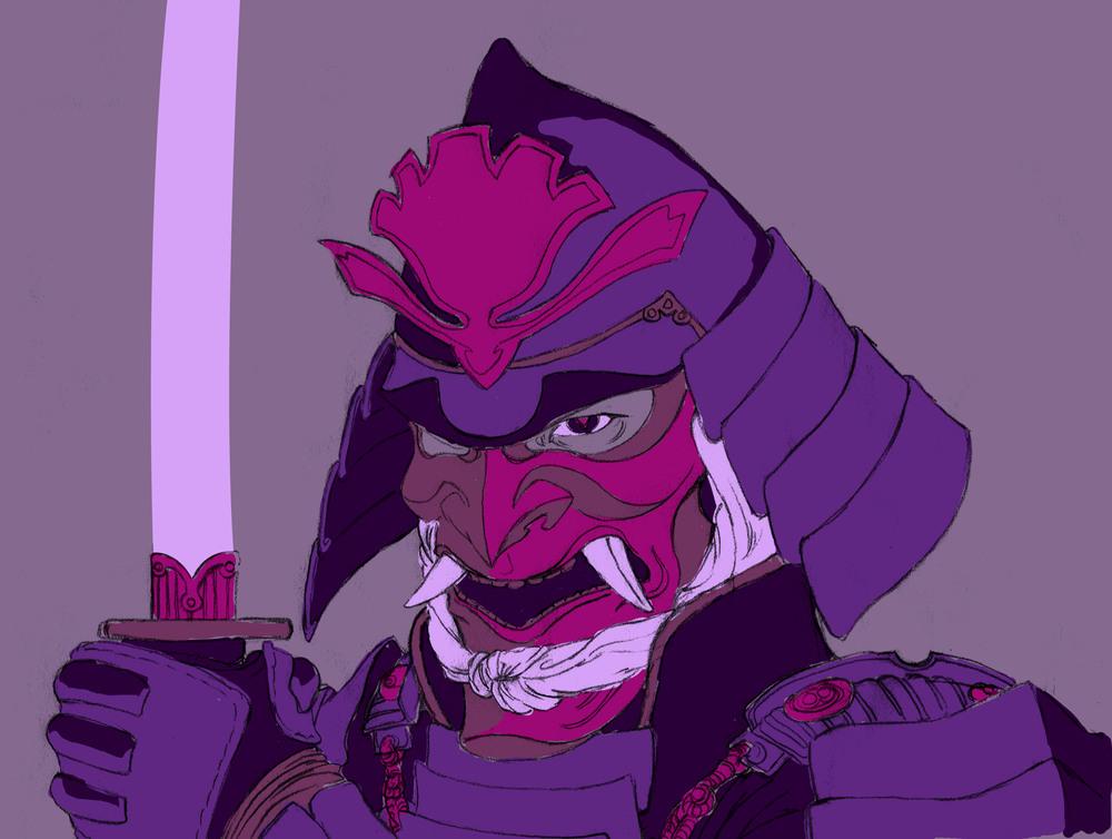 Demon Samurai Concept