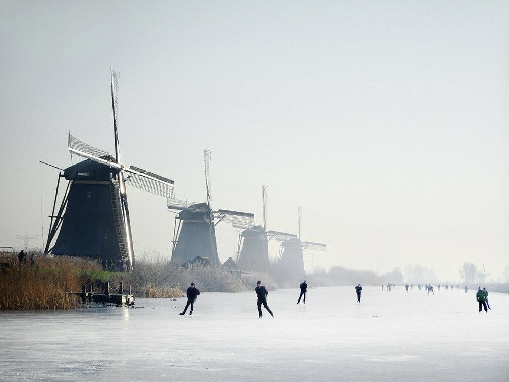 Instagram   Winter in Holland