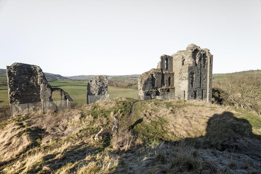 Clun Castle, Shropshire.