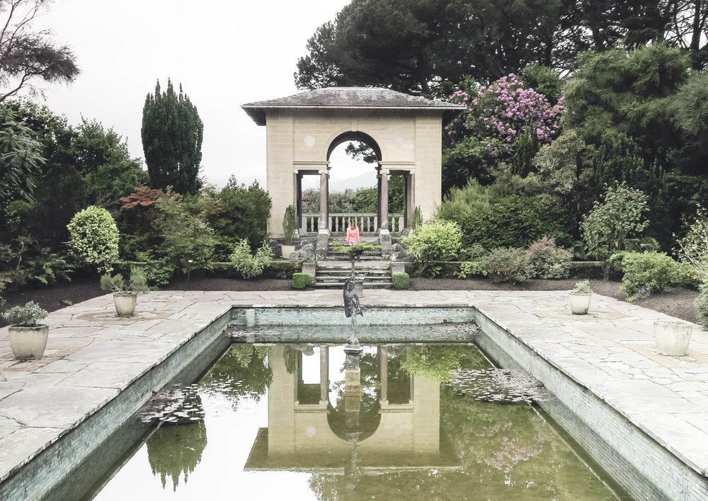 Italian temple in the famed Italian Gardens of Garnish Island, do bring your prosecco!