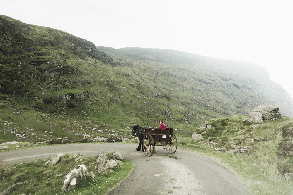 Gap of Dunloe by Jaunting Car