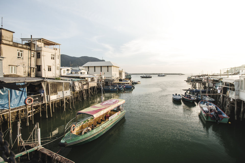 Tai O fishing village lies in the western coast of Lantau island.