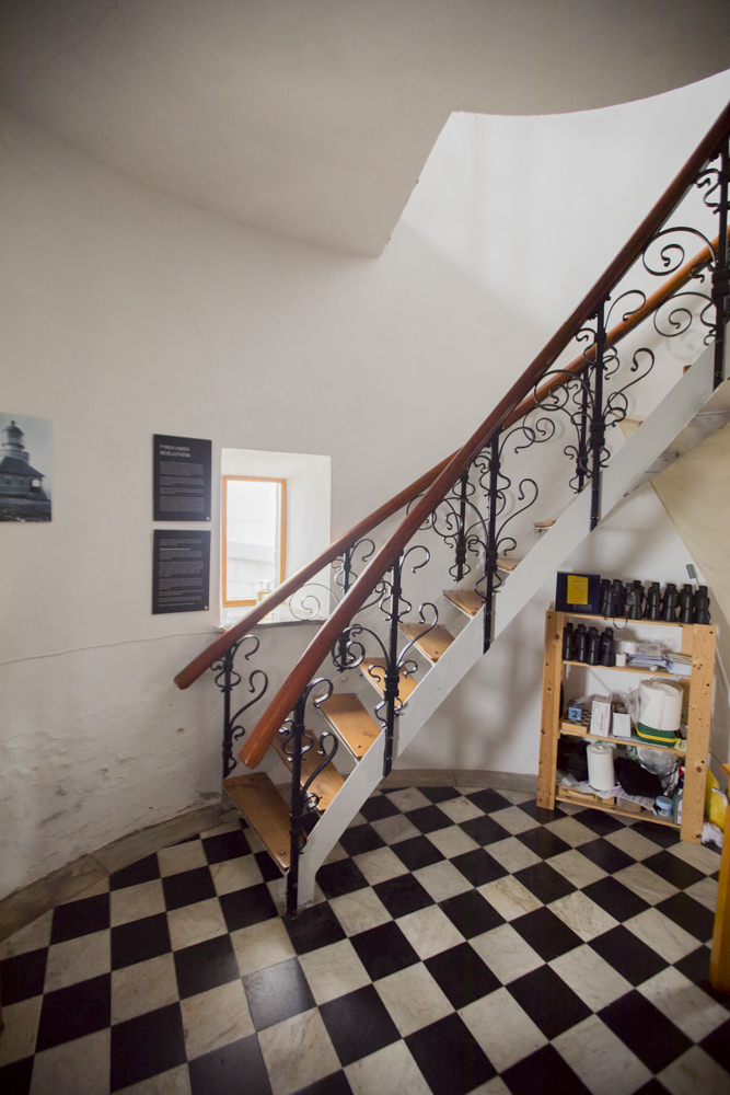 Built in 1561, the beautifully designed staircase looks stunning.