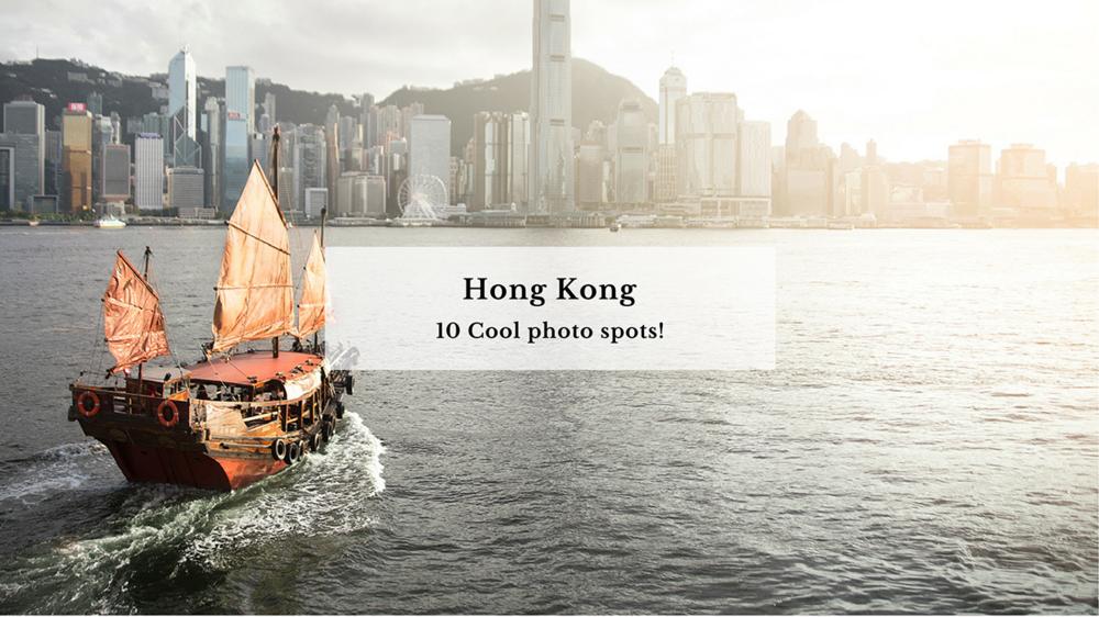 10 Cool photo spots in Hong Kong!