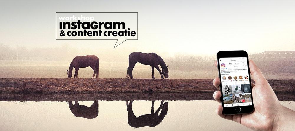 Workshop Instagram & Content Creatie door @claireonline