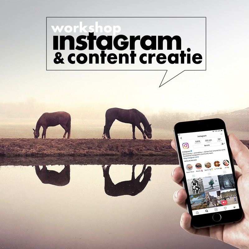 workshop instagram & content creatie claireonline