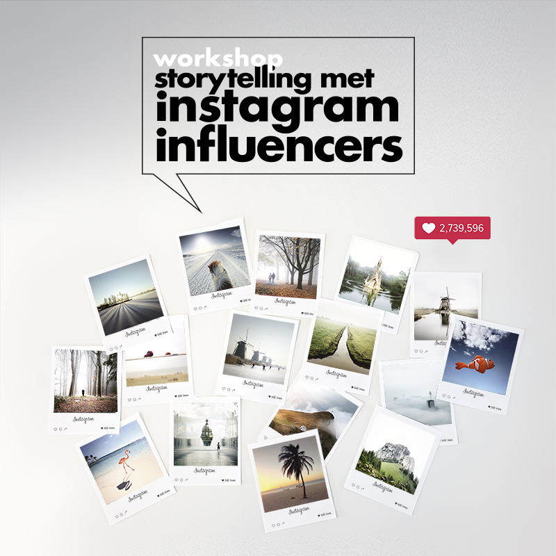 workshop storytelling met instagram influencers