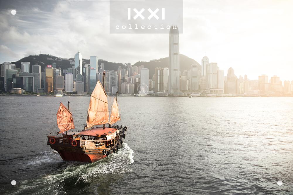 Hong Kong, Victoria Harbour - Dukling Boat