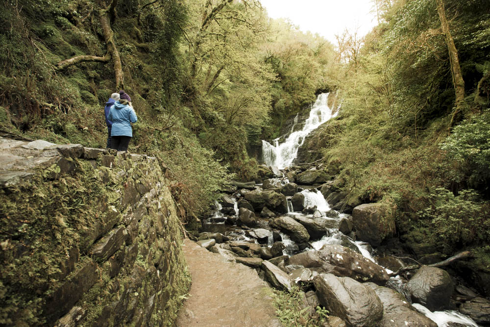 The stunning Torc waterfall and the hiking trails that surround. A great place to visit and equally explore. I enjoyed it here, witnessing the forces of nature in full flow
