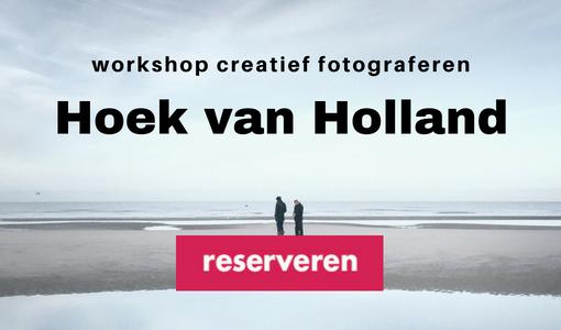 Workshop creatief fotograferen Hoek van Holland