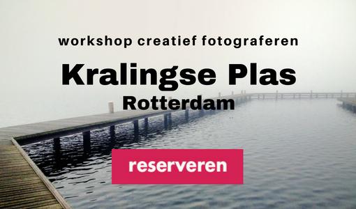 Workshop creatief fotograferen Kralingse Plas