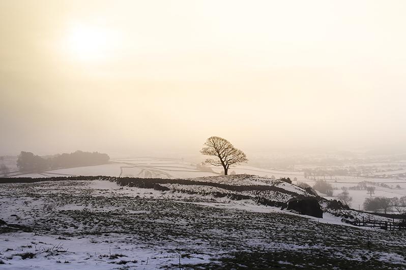 Winter in Peak District