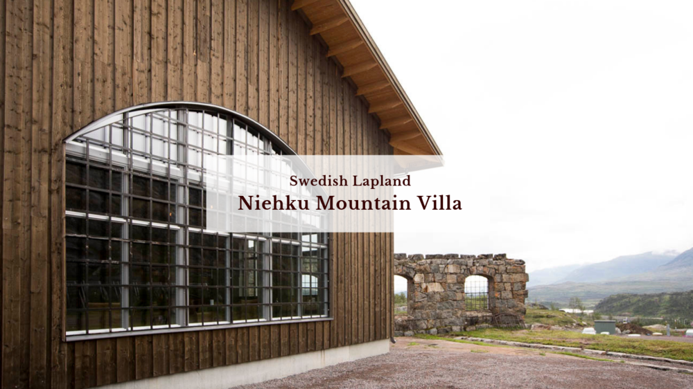 Niehku Mountain Villa, Swedish Lapland