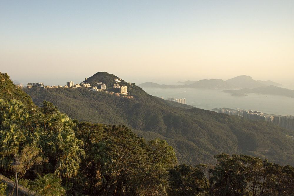 View from Victoria Peak summit