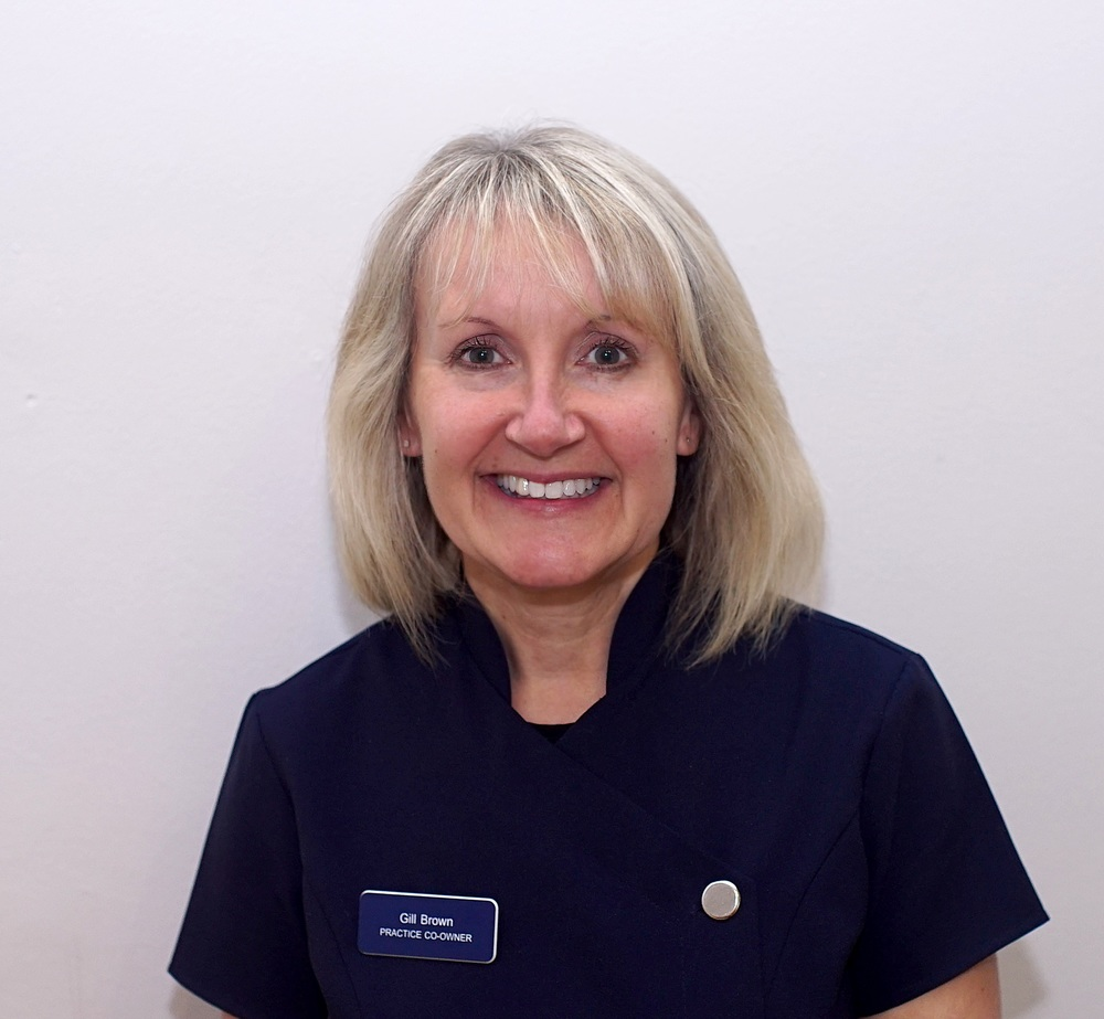 Gill Brown Practice Owner/Dental receptionist 2012