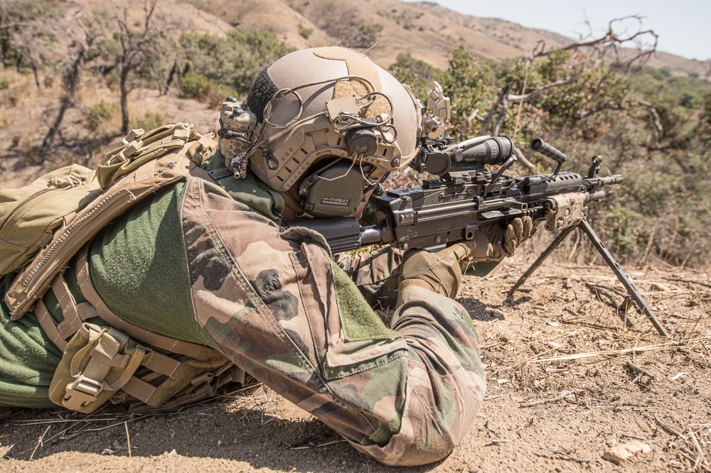 1st Marine Raider Battalion conducts ground training at Camp Pendleton. August, 1015. Photo by Rhett Stansbury