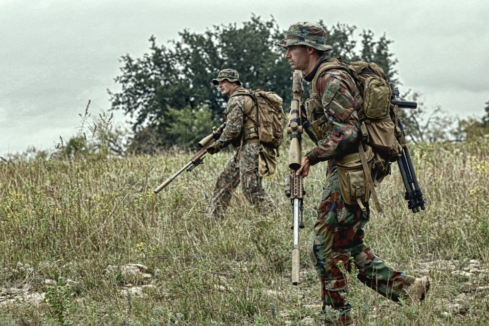 Members of MARSOC attend the Advanced Sniper Training Course in Jacksboro, TX on October 29, 2013. Photo by Vance Jacobs