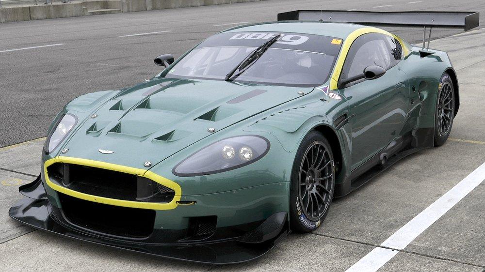 Video Onboard In A 2006 Aston Martin Gt1 Le Mans Racer Sam Hancock