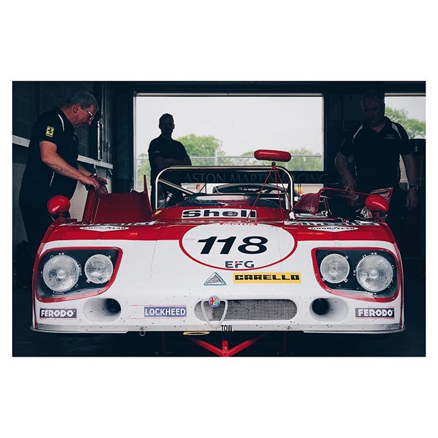 Busy week readying cars for upcoming events like Le Mans Classic and Le Mans support races. This Alfa T33/3 among them, feeling better than ever after a winter rebuild by @sportinghistoriccareng 👌🏼🏁 . . #alfaromeo #tipo33 #t33/3 #alitalia #lemansclassic #historicracing #lemans #lm24 #24lm #donington #racingdriver #racecardriver #racepro #drivercoach #sportscar #racing #icon #alfa #autodelta