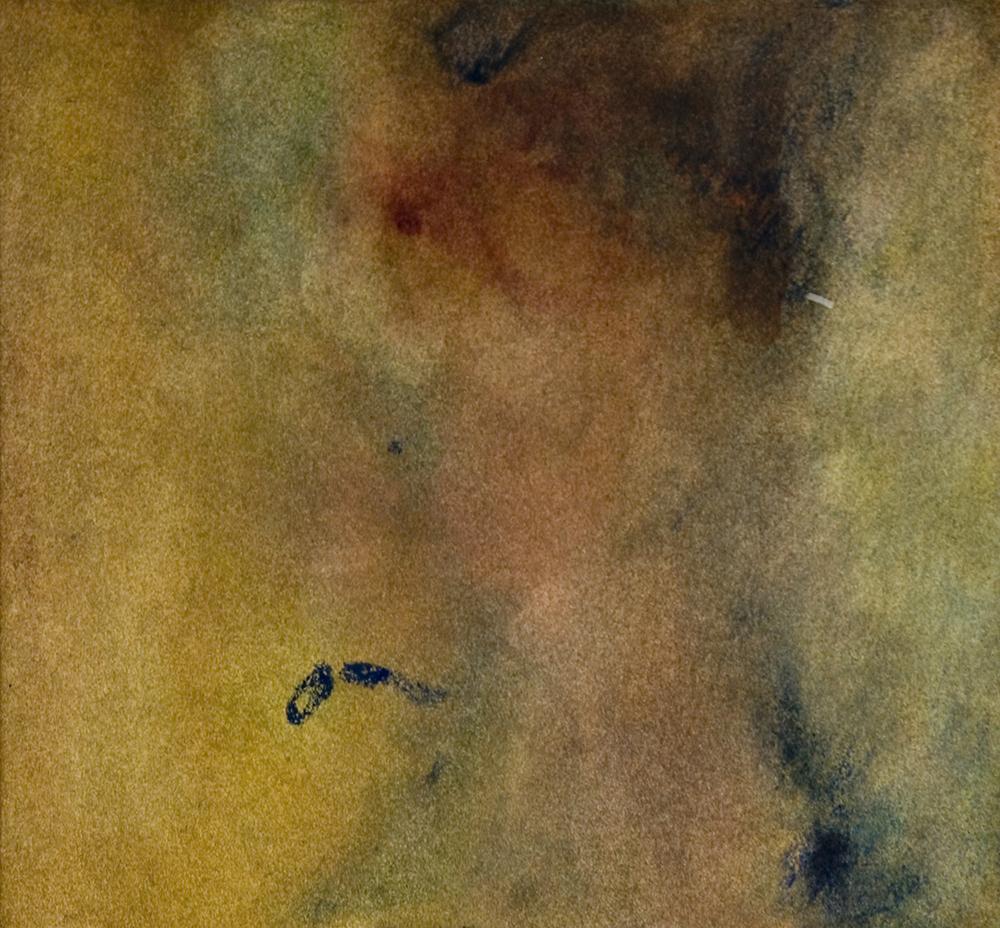 "David. Watercolor. 13"" h x 12"" w"