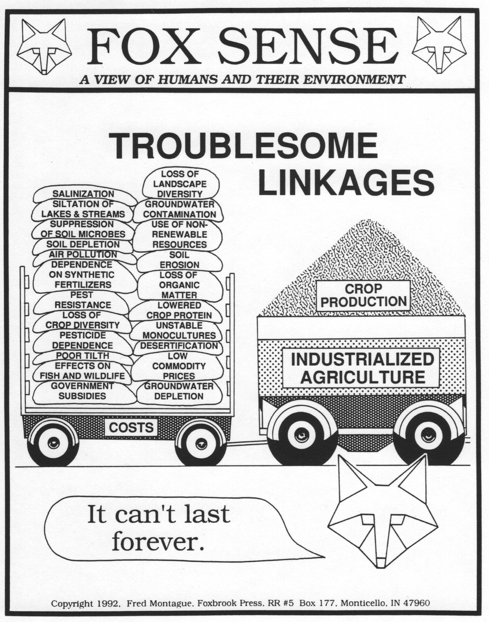 Troublesome Linkages from FoxSense