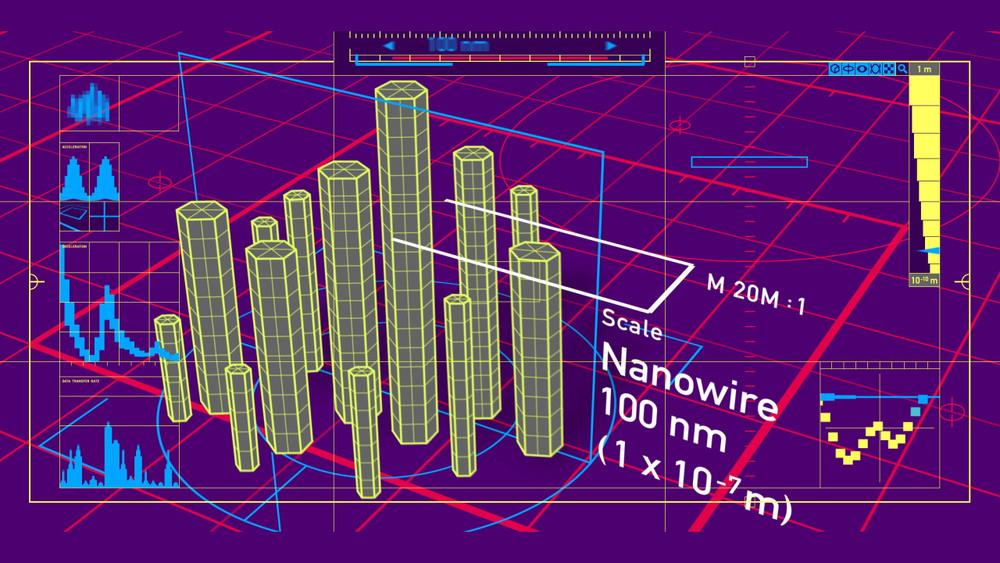 Weniger als ein paar Milliardstel Meter messen die kleinsten Strukturgrößen moderner Halbleiterbauelemente.