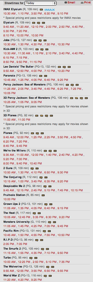 List of Films Today.png