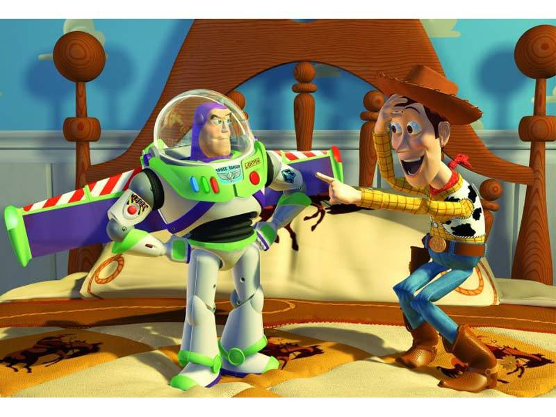 In 1995, Buzz Lightyear and Woody launched a new era in animated films.