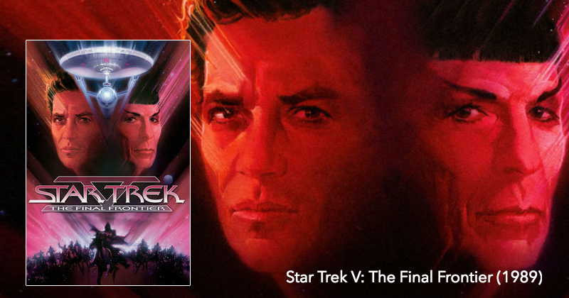 Listen to Star Trek V: The Final Frontier on The Next Reel Film Podcast