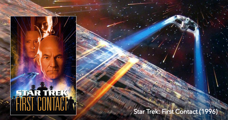 Listen to Star Trek: First Contact on The Next Reel Film Podcast