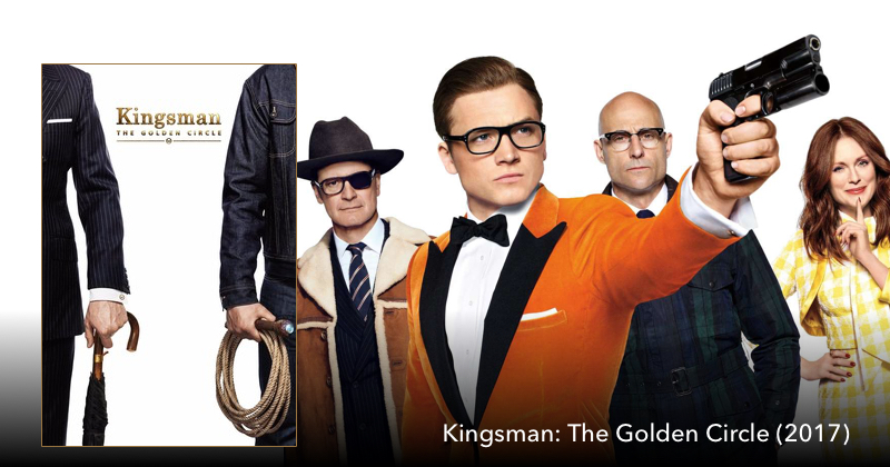 Kingsman: The Golden Circle on The Next Reel Film Podcast