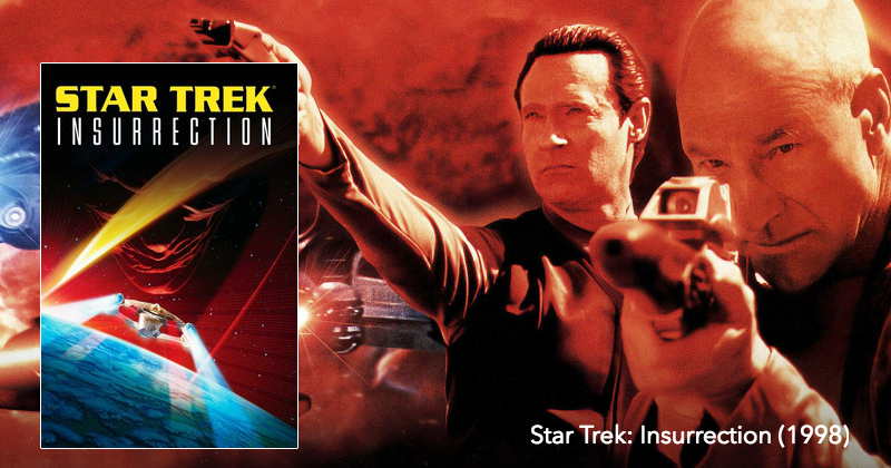 Listen to Star Trek: Insurrection on The Next Reel Film Podcast