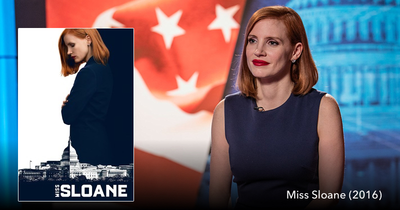 Listen to Miss Sloane on The Next Reel Trailer Rewind Podcast