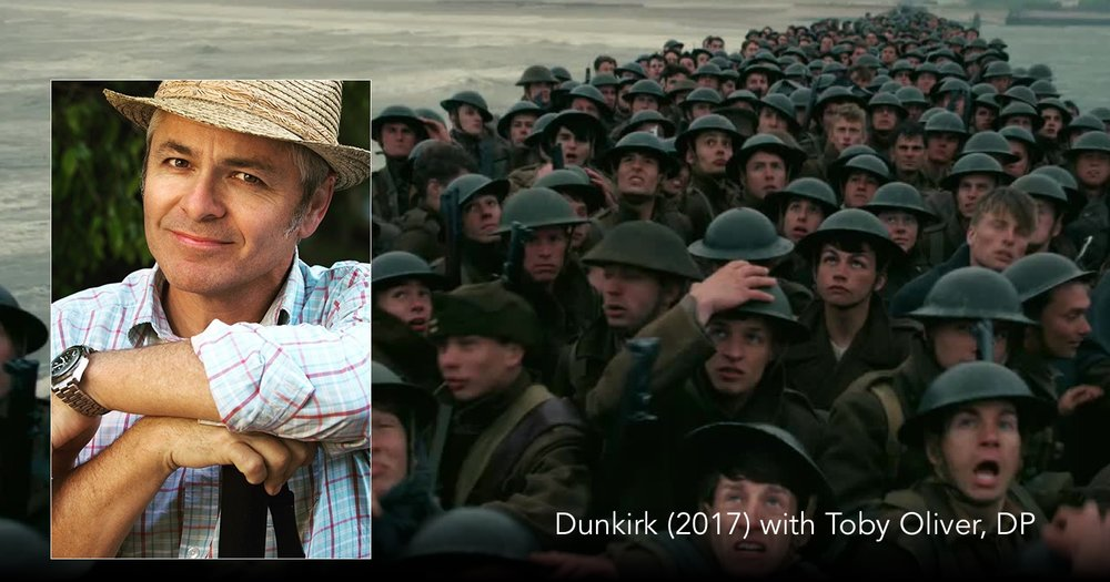 Listen to cinematographer Toby Oliver talk Dunkirk on The Next Reel Film Podcast