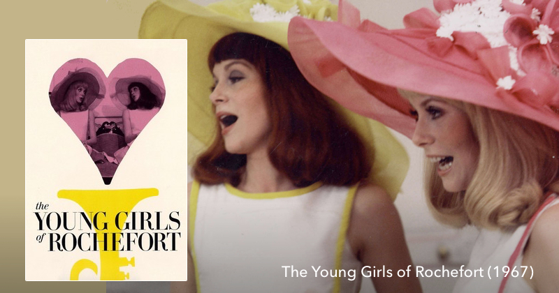Listen to The Young Girls of Rochefort on The Next Reel Film Podcast