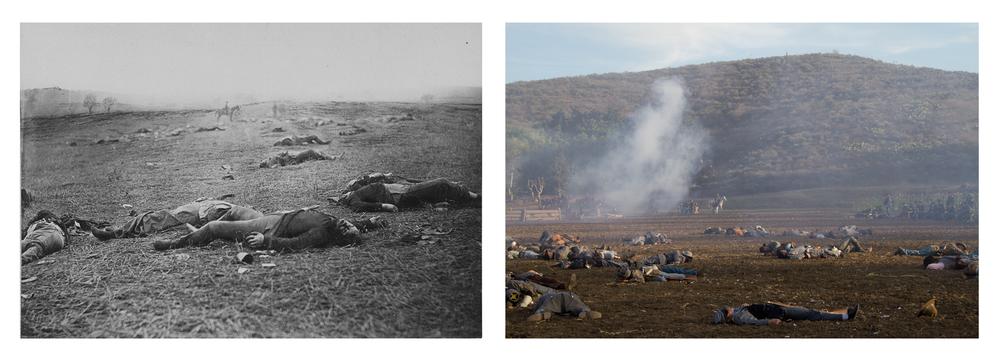 Gettysburg Comparison 2012