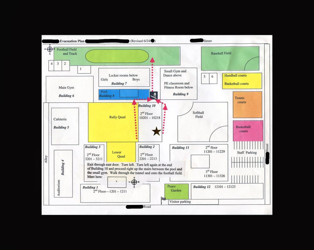 Ms. S' Evac Map