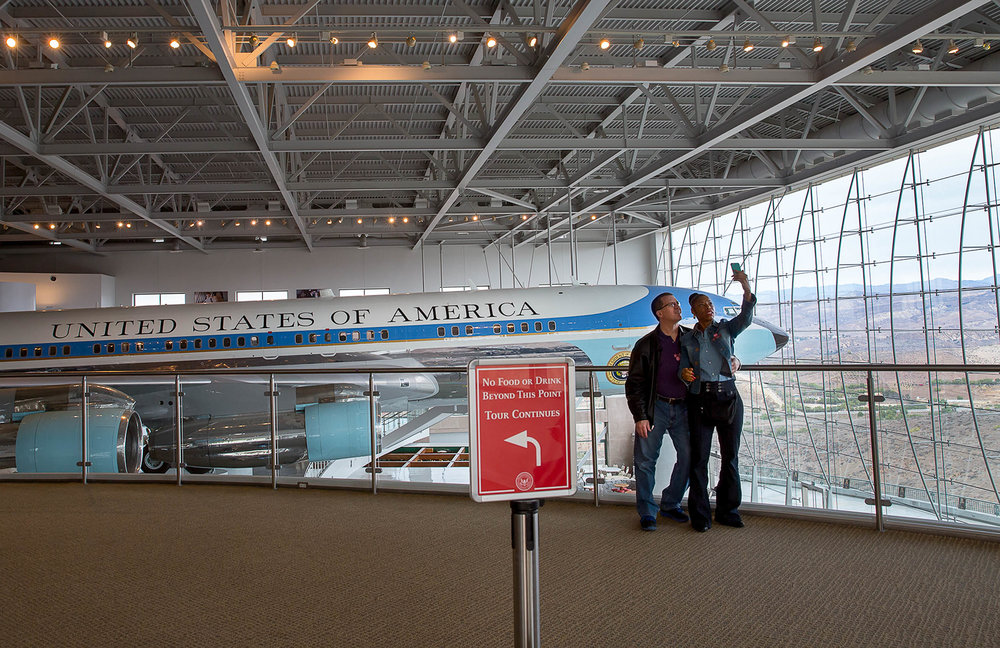 Air Force One, Ronald Reagan Library, California