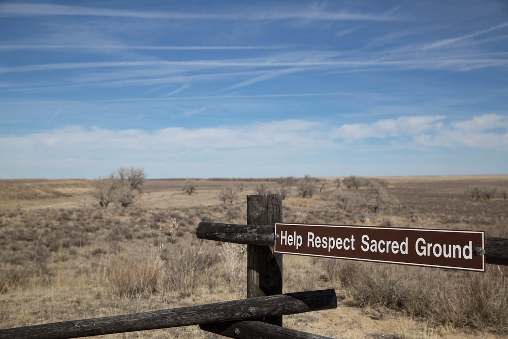 National Historic Site of the Sand Creek Massacre fence, Colorado