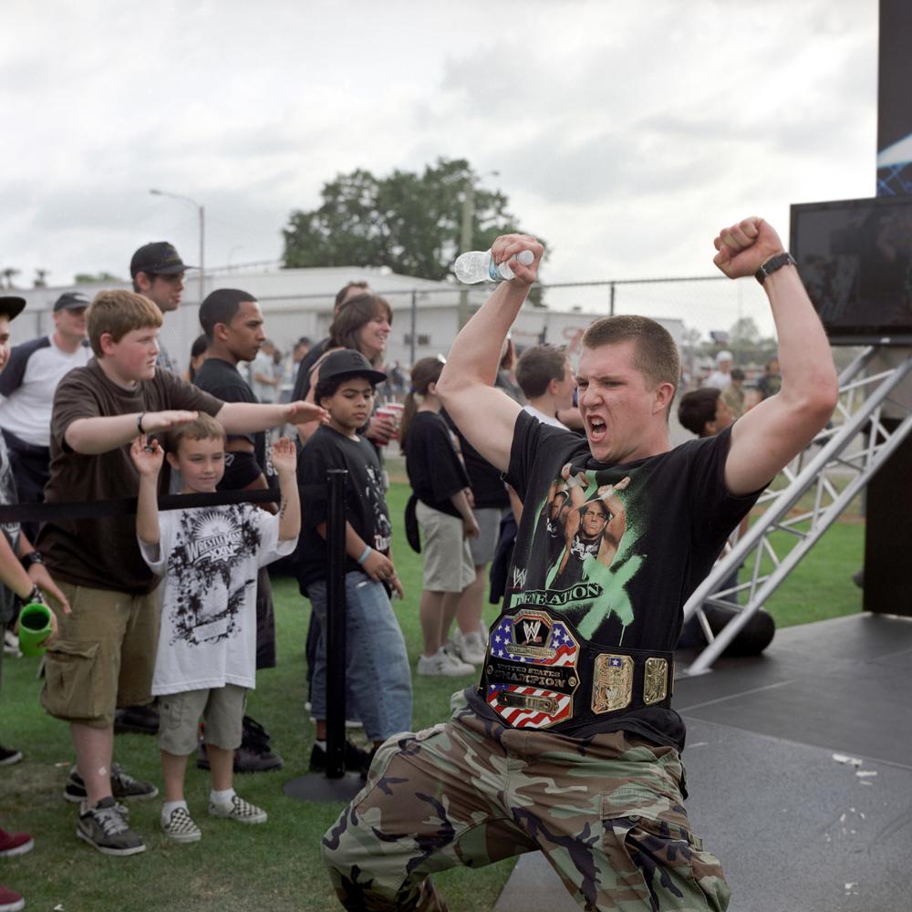 Copy of child celebration WWE wrestle mania world wrestling entertainment orlando florida