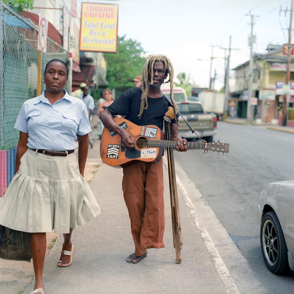 Copy of medium format film portrait jamaica sunny disabled