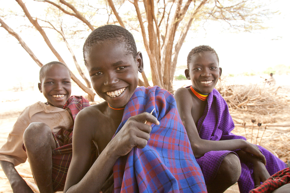 Copy of smile in africa photograph