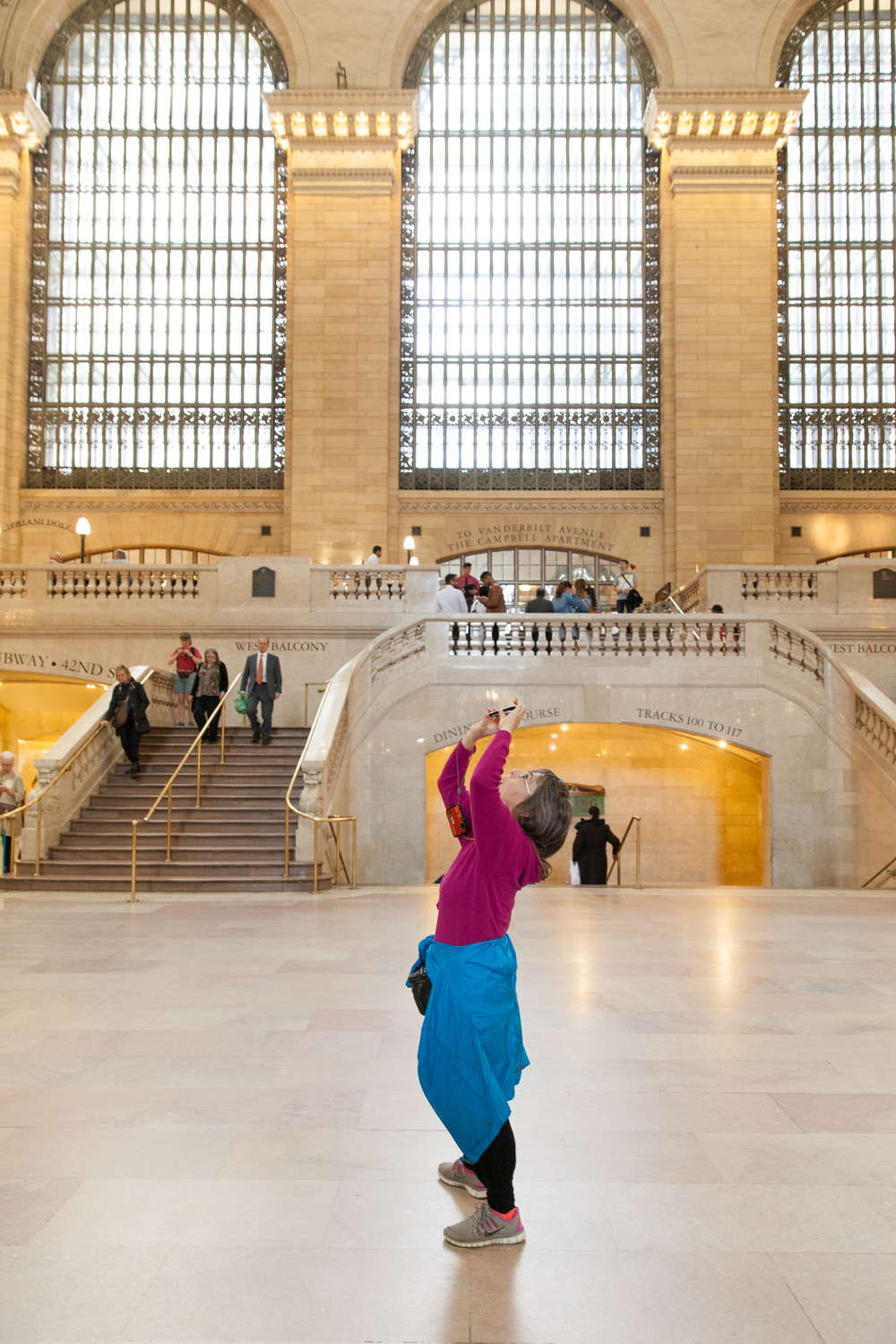 Grand Central Station New York editorial photographer